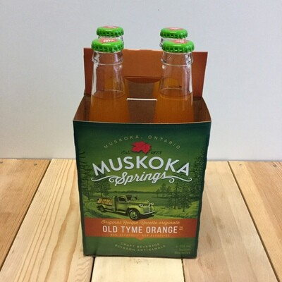 MUSKOKA SPRINGS Old Tyme Orange 4 pack