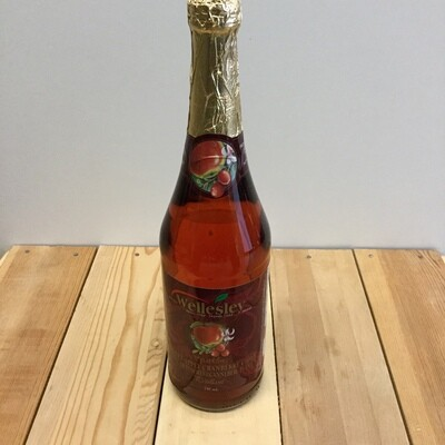 WELLESLEY Sparkling Sweet Apple Cranberry Cider 750ml