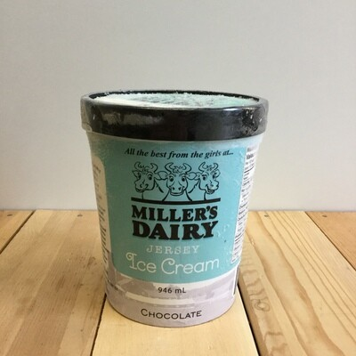 MILLERS Ice Cream Chocolate 946ml