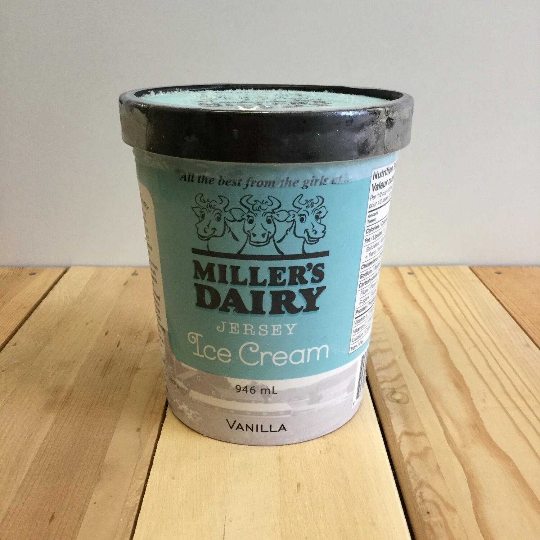 MILLERS Ice Cream Vanilla 946ml