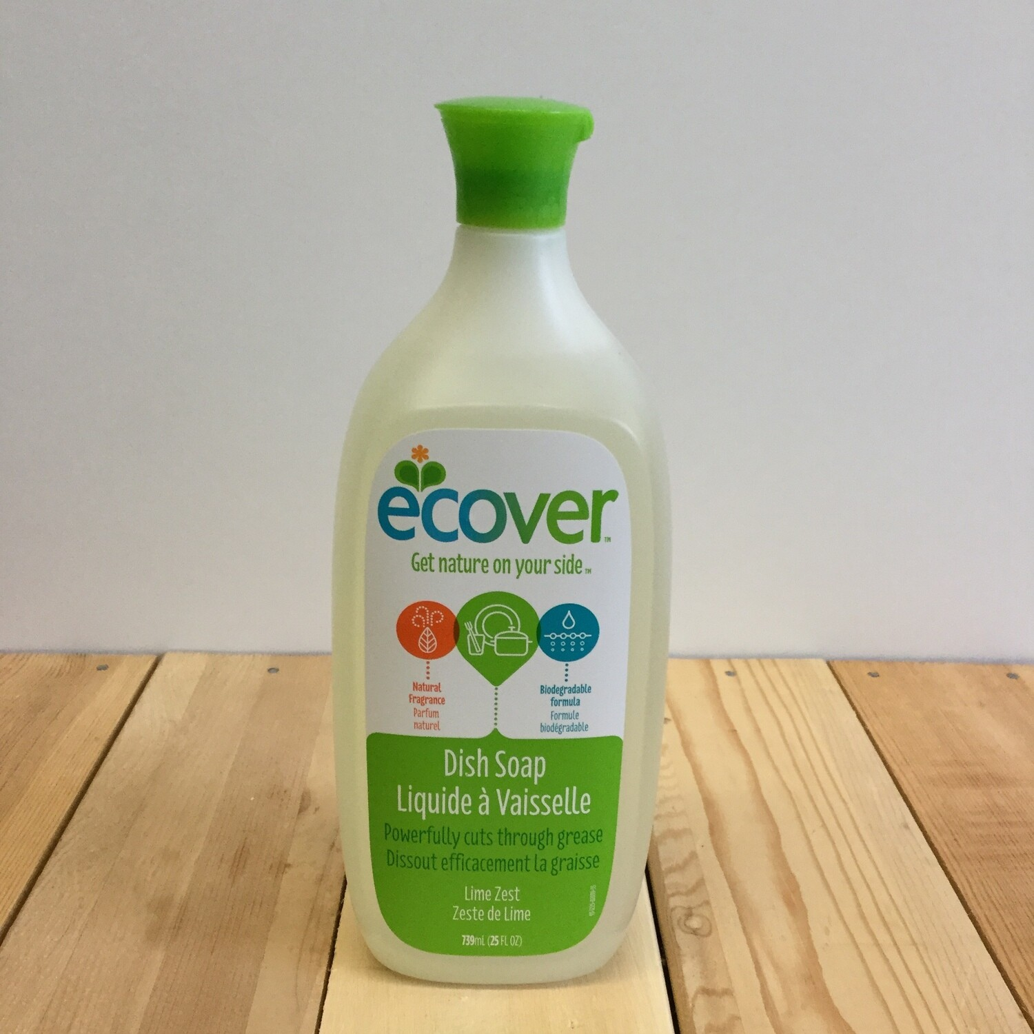ECOVER Dish Soap Lime Zest 739mL