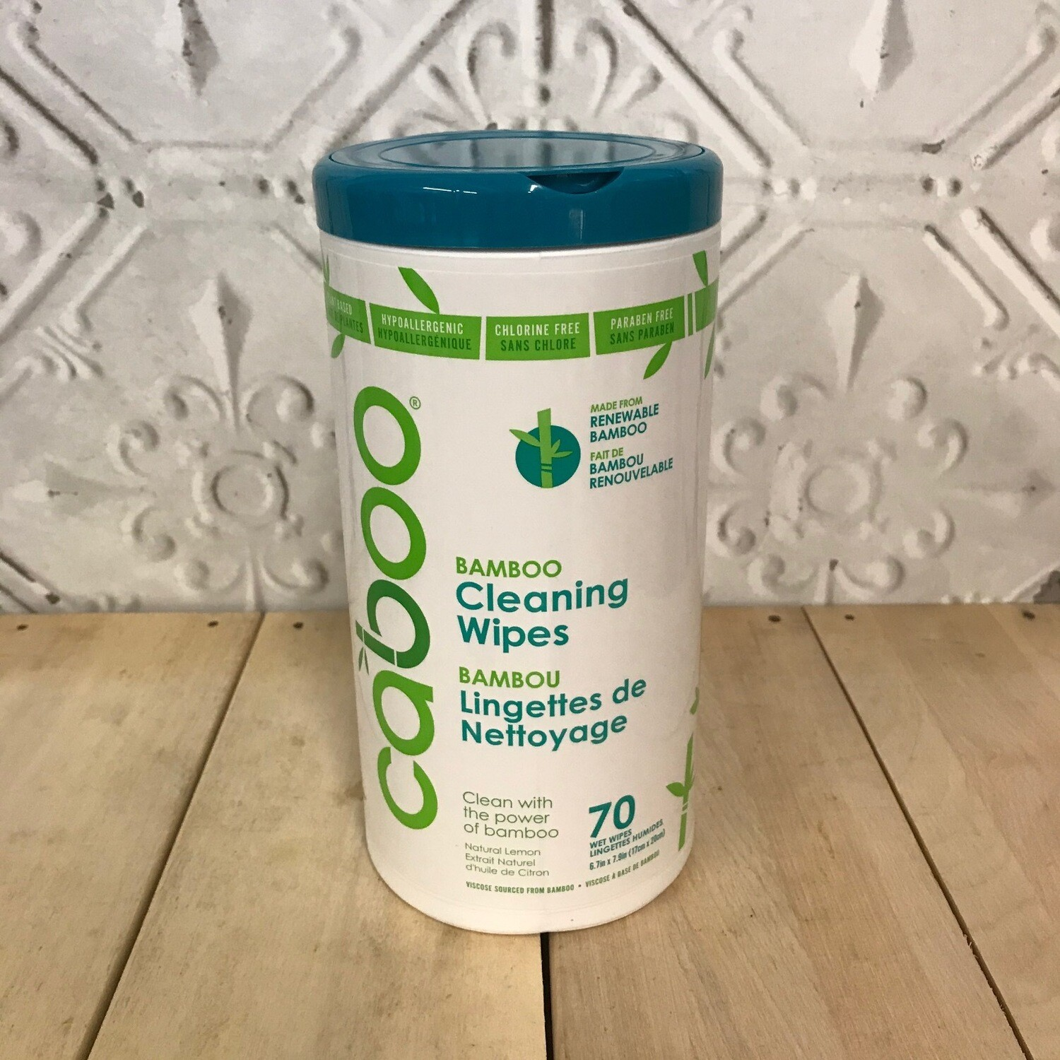 CABOO Wipes Canister 70ct