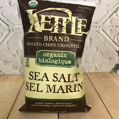 KETTLE BRAND Chips Sea Salt Organic 142g