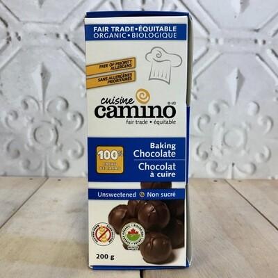 CAMINO Unsweetened Baking Chocolate 200g