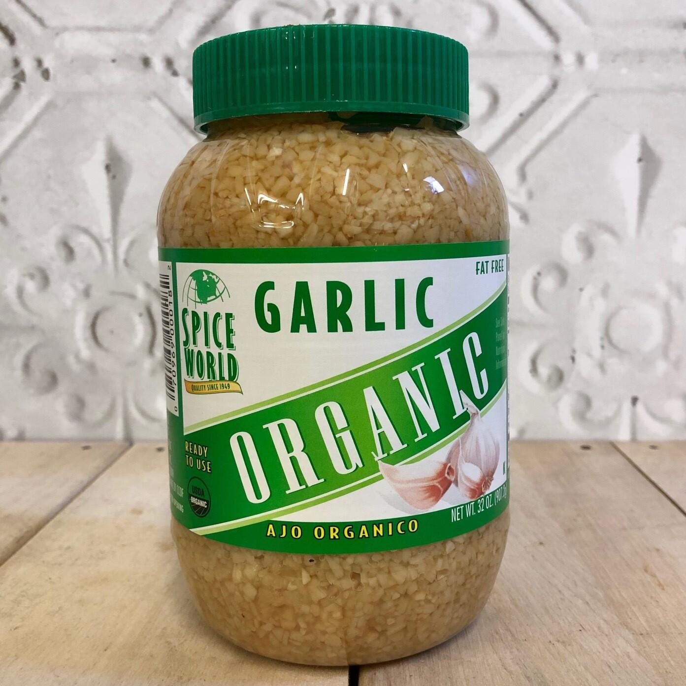 SPICE WORLD Org Garlic 907.2g