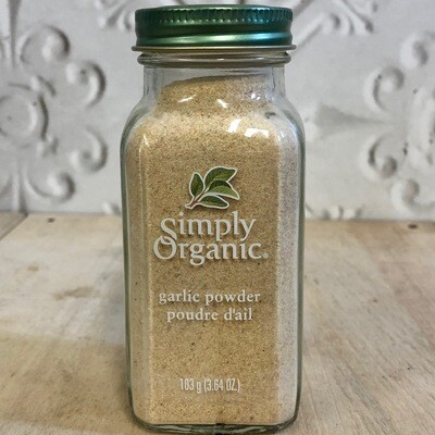 SIMPLY ORGANIC Garlic Powder  103g