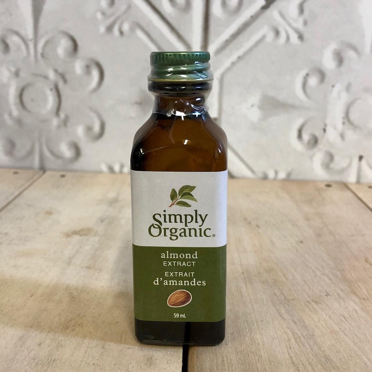 SIMPLY ORGANIC Almond Extract 59ml