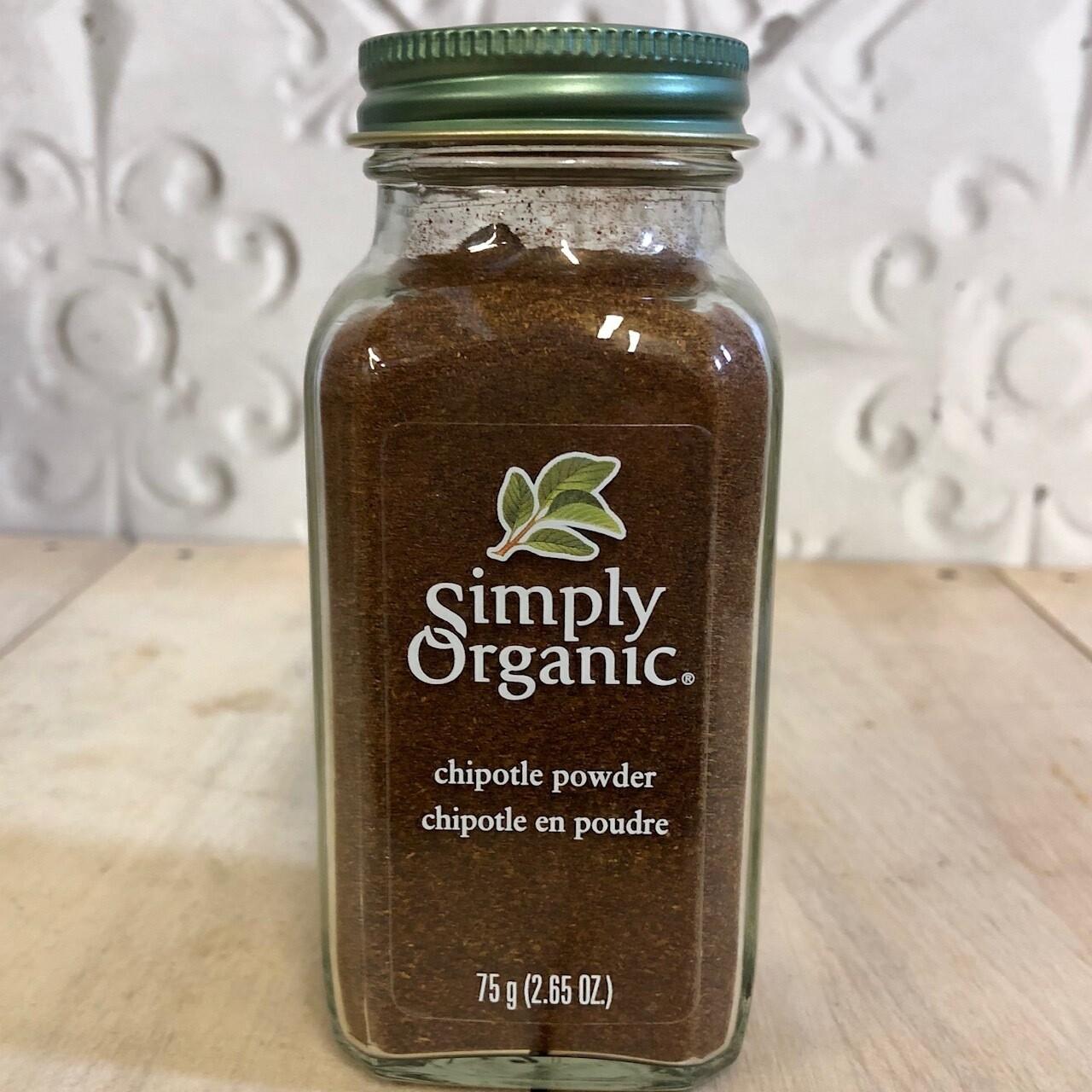 SIMPLY ORGANIC Chipotle Powder 75g