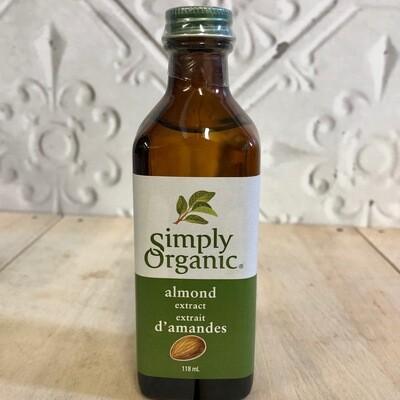 SIMPLY ORGANIC Almond Extract 118ml