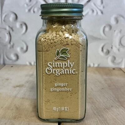 SIMPLY ORGANIC Ginger 46g