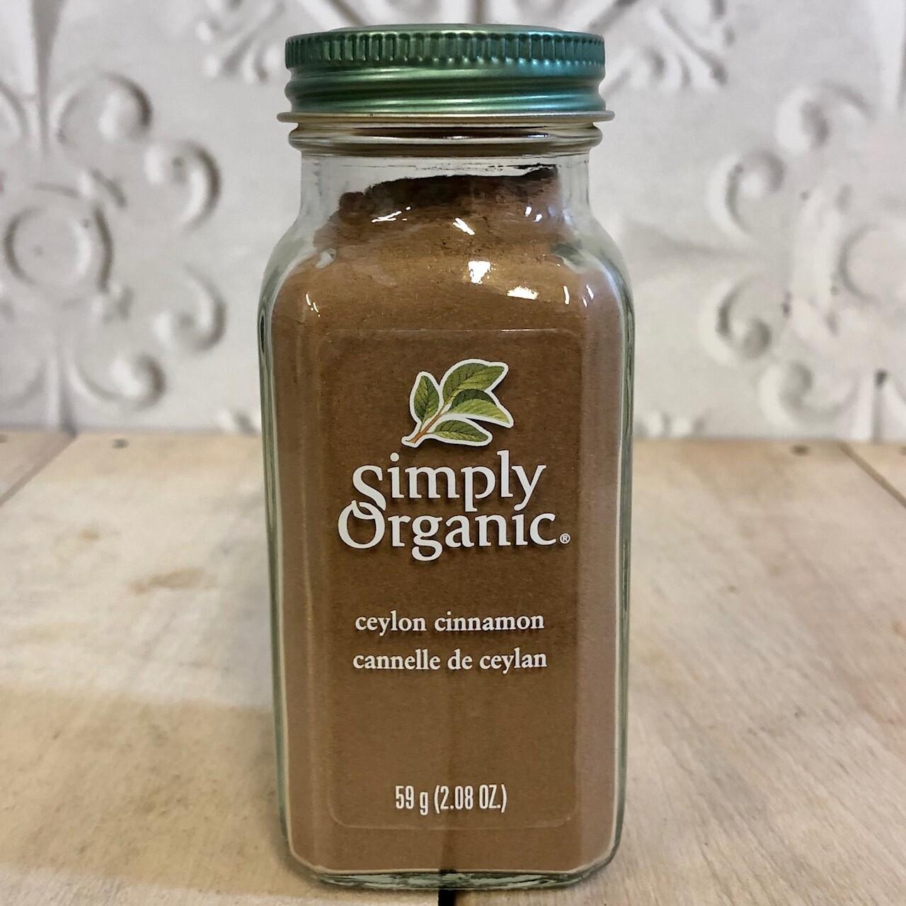 SIMPLY ORGANIC Ceylon Cinnamon 59g