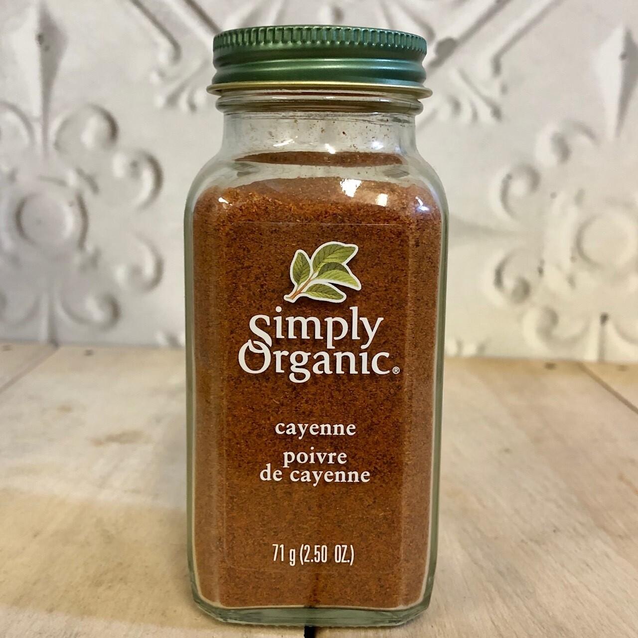 SIMPLY ORGANIC Cayenne 71g