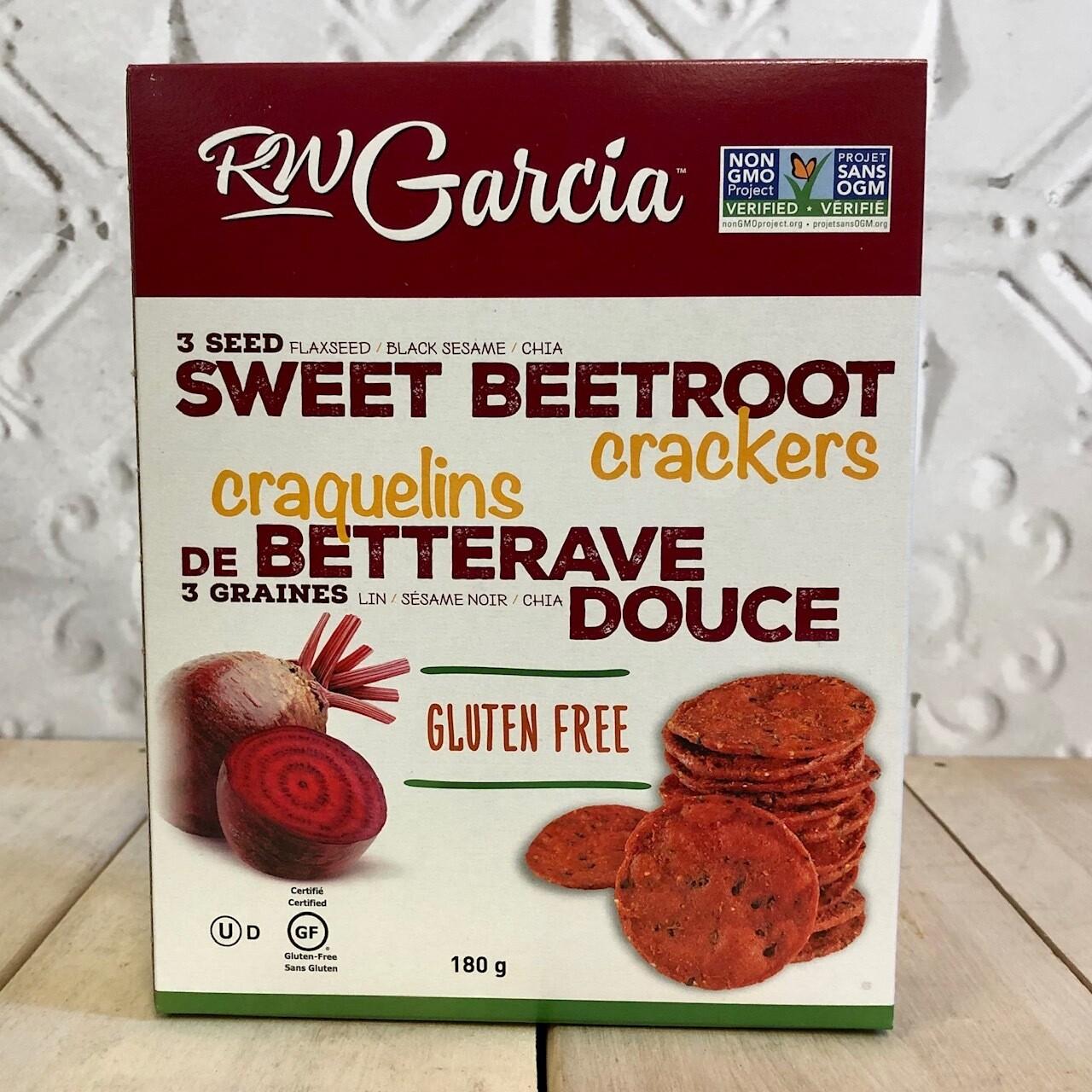 RW GARCIA Sweet Beet Crackers 180g