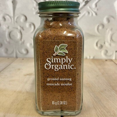 SIMPLY ORGANIC Ground Nutmeg 65g