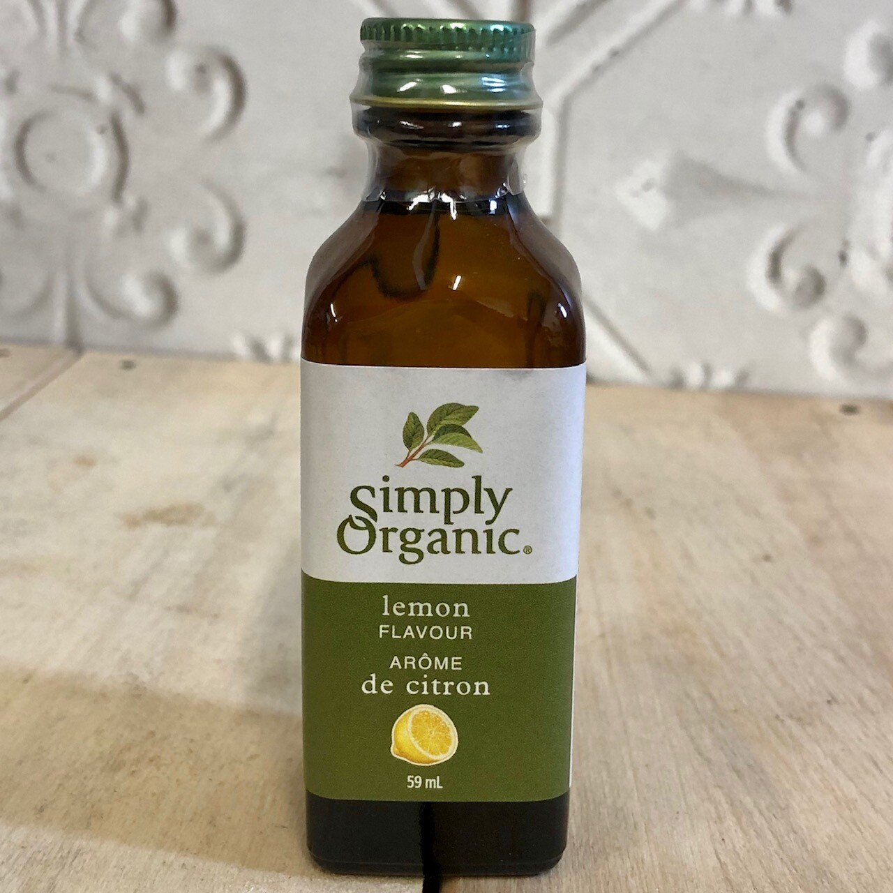 SIMPLY ORGANIC Lemon Flavour 59ml