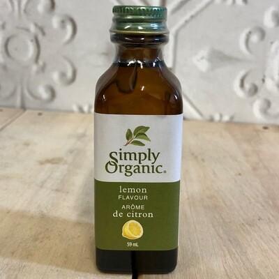 SIMPLY ORGANIC Lemon Flavour 59ml