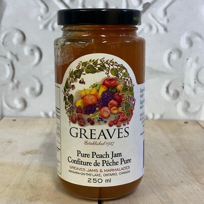 GREAVES Pure Peach Jam 250ml