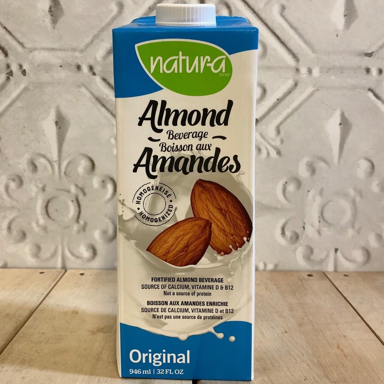 NATURA Almond Beverage Original 946ml