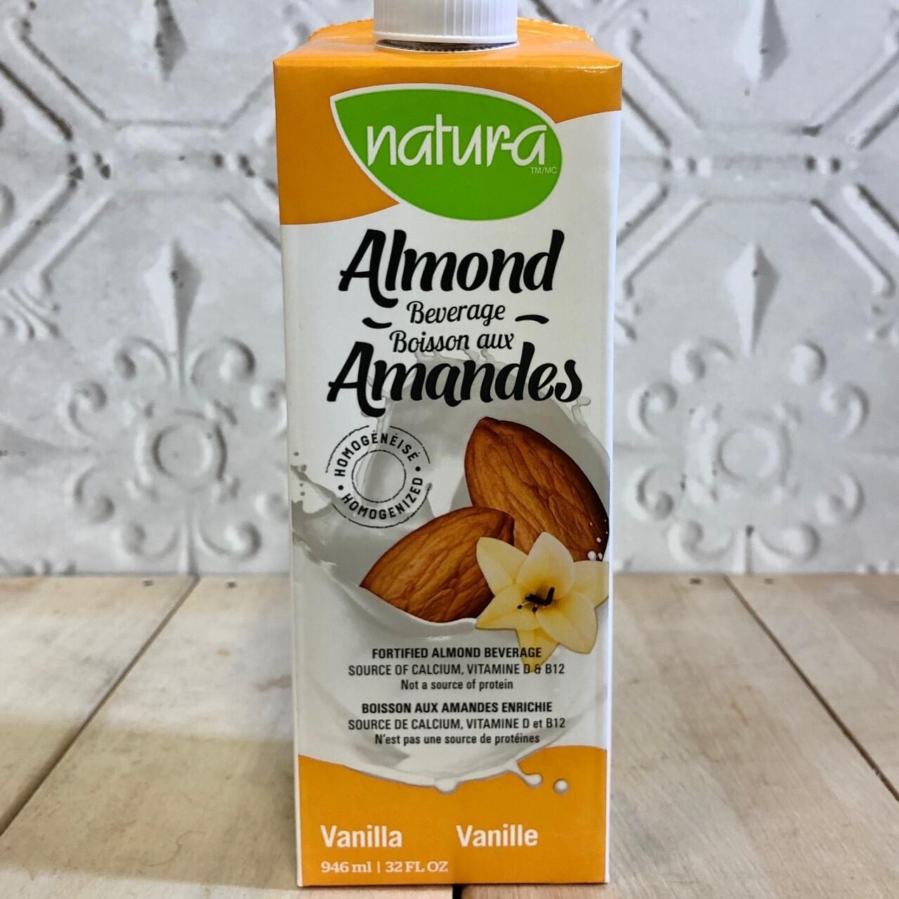 NATURA Almond Beverage Vanilla 946ml