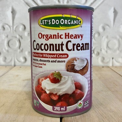 LETS DO ORGANIC Coconut Cream 398ml