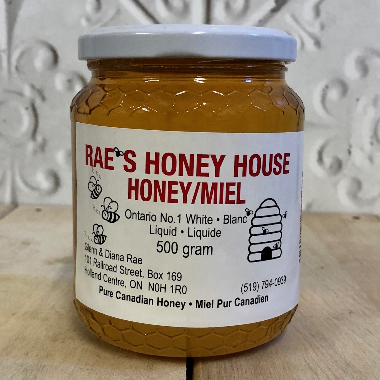 RAES HONEY HOUSE Liquid Honey 500g