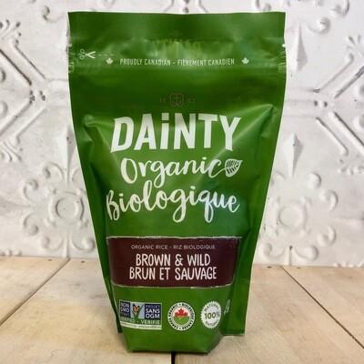 DAINTY Brown & Wild Rice 410g
