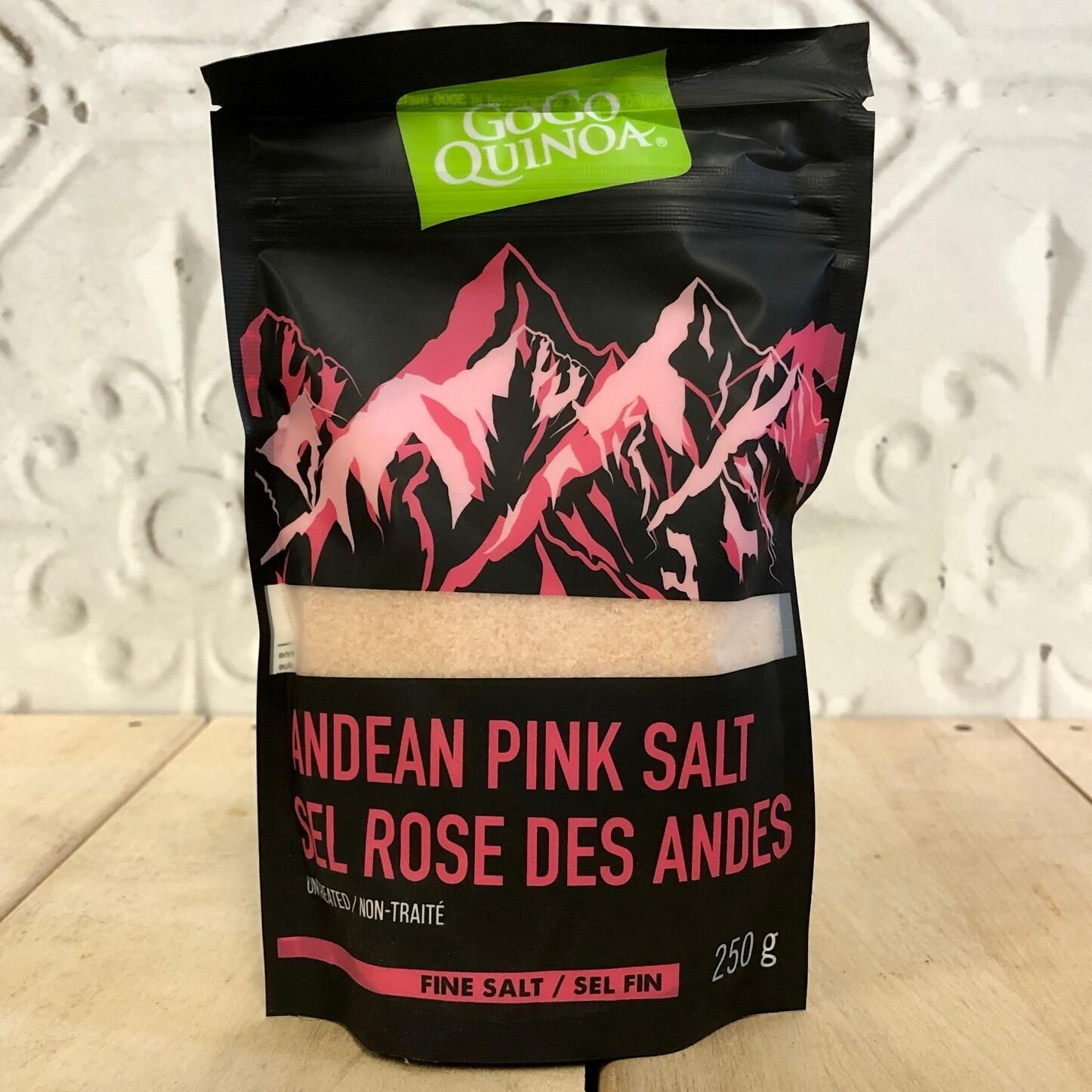 GOGO QUINOA Andean Pink Salt 250g