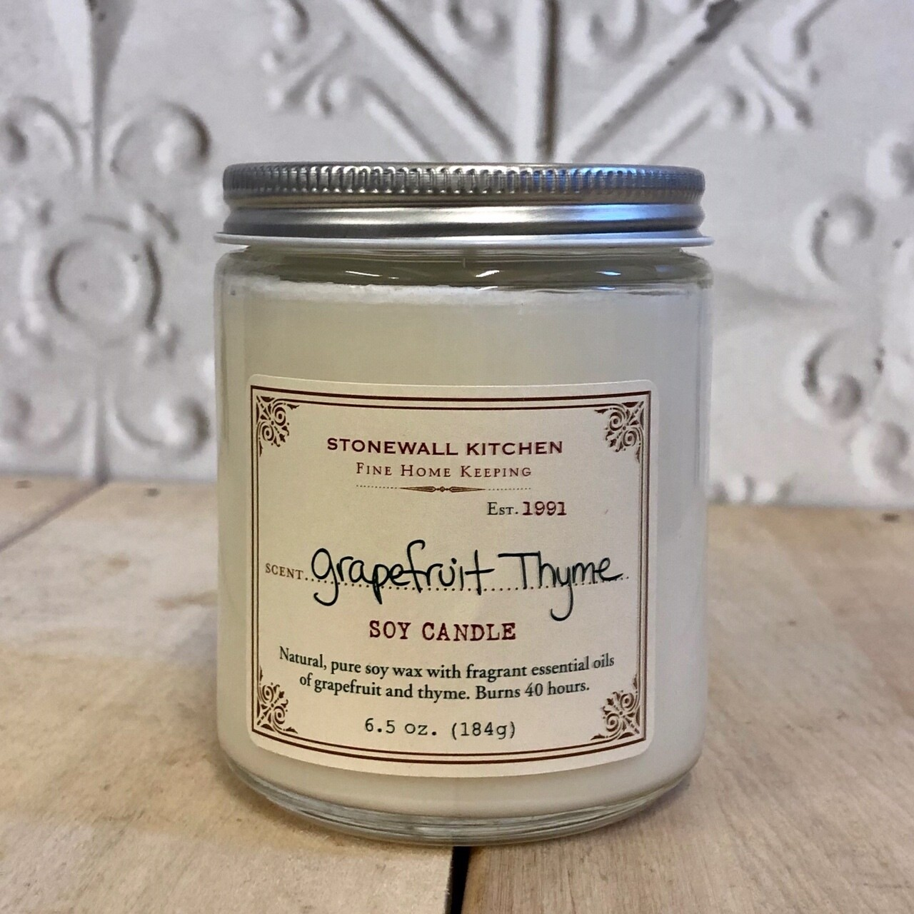 STONEWALL Soy Candle Grapefruit 184g
