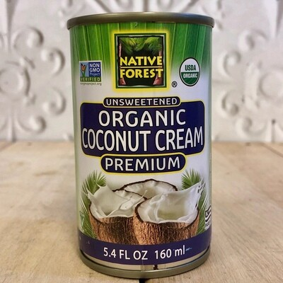 NATIVE FOREST Org Coconut Cream 160ml