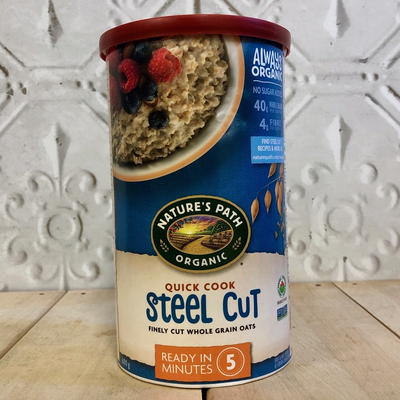 NATURES PATH Quick Cook Steel Cut