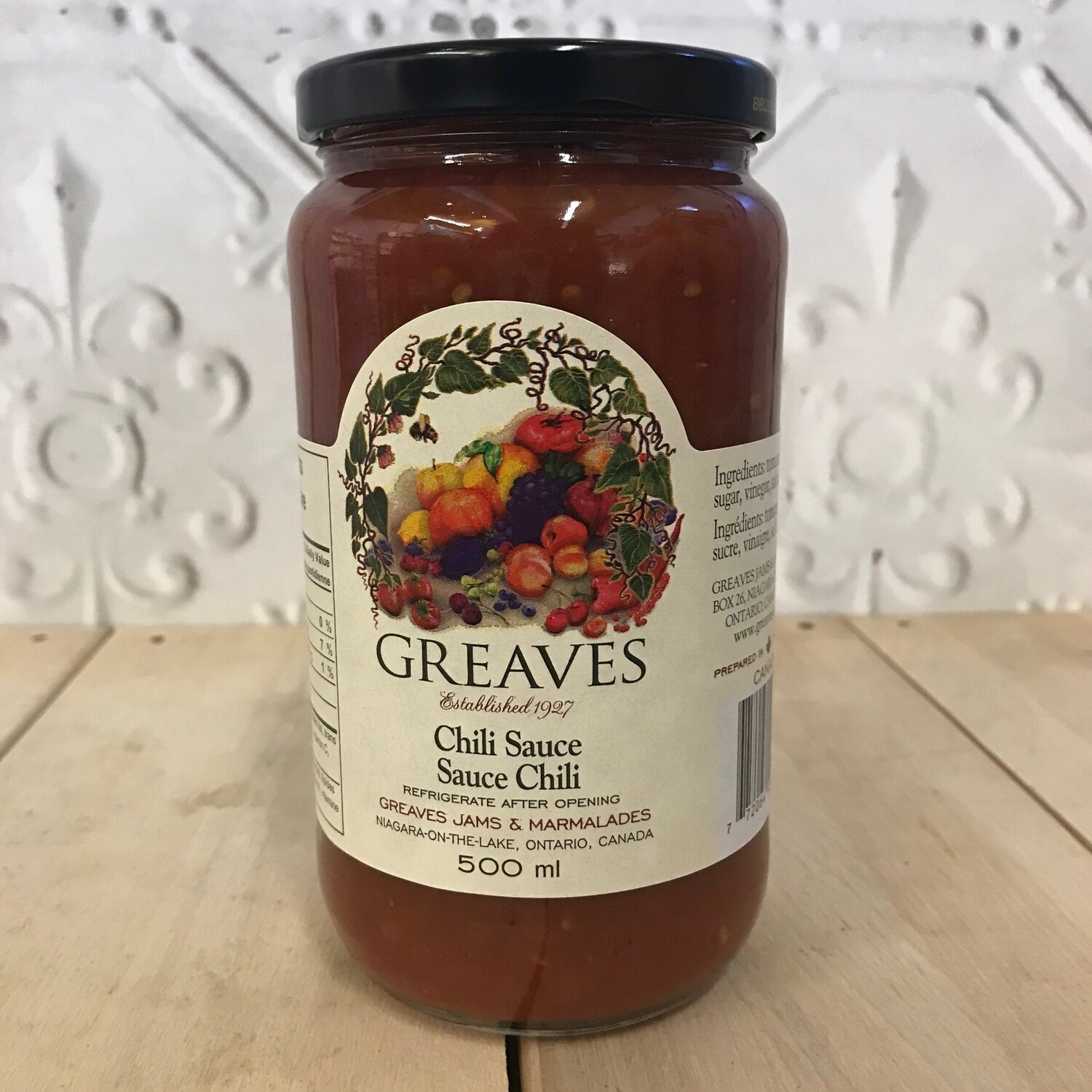 GREAVES Chili Sauce 500ml