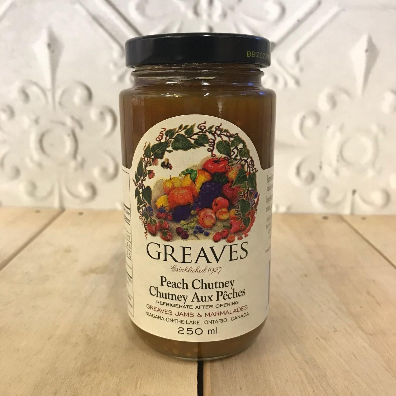 GREAVES Peach Chutney 250ml