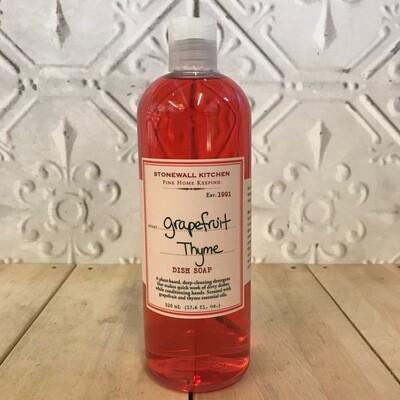 STONEWALL KITCHEN Dish Soap Grapefruit 520mL