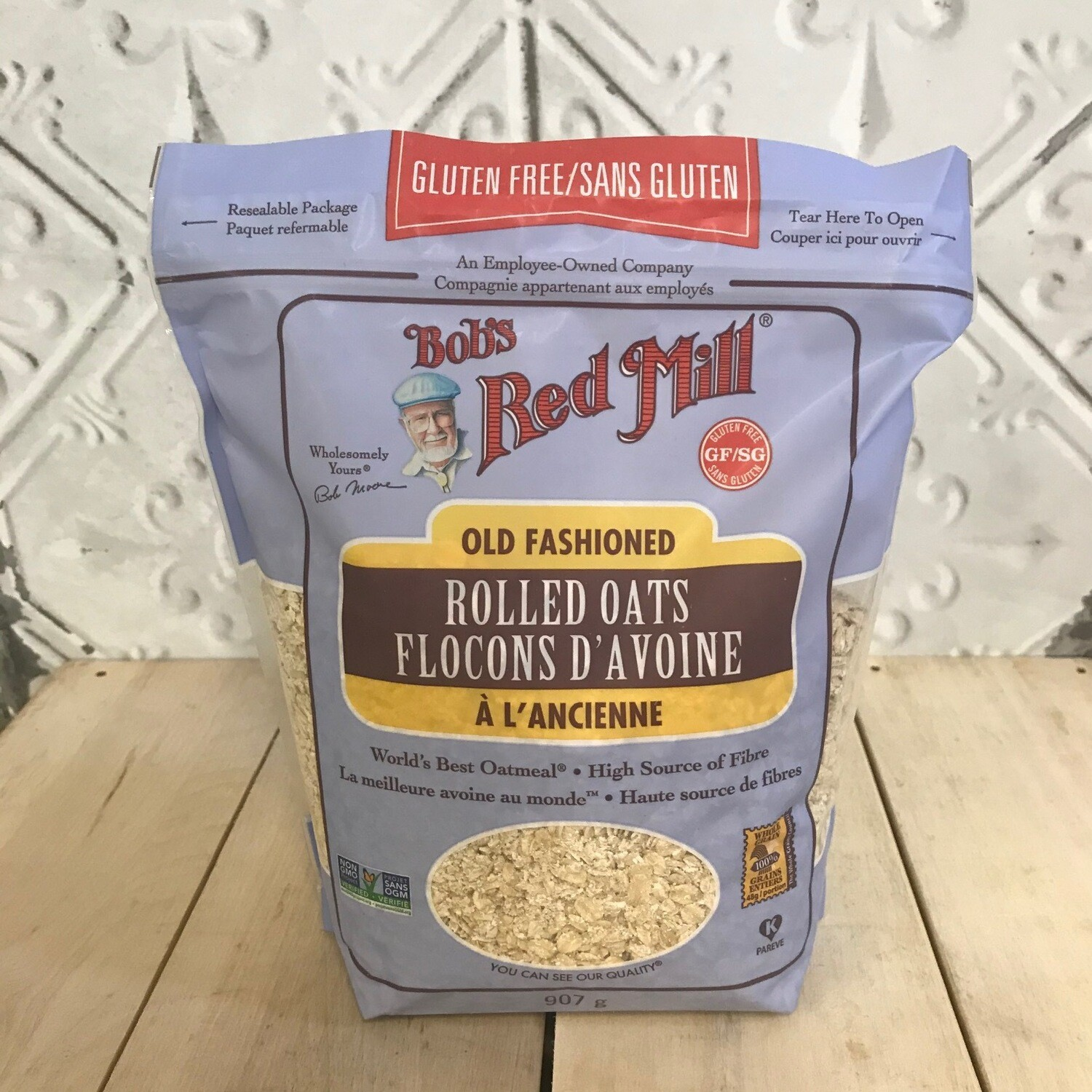 BOBS RED MILL Rolled Oats 907g