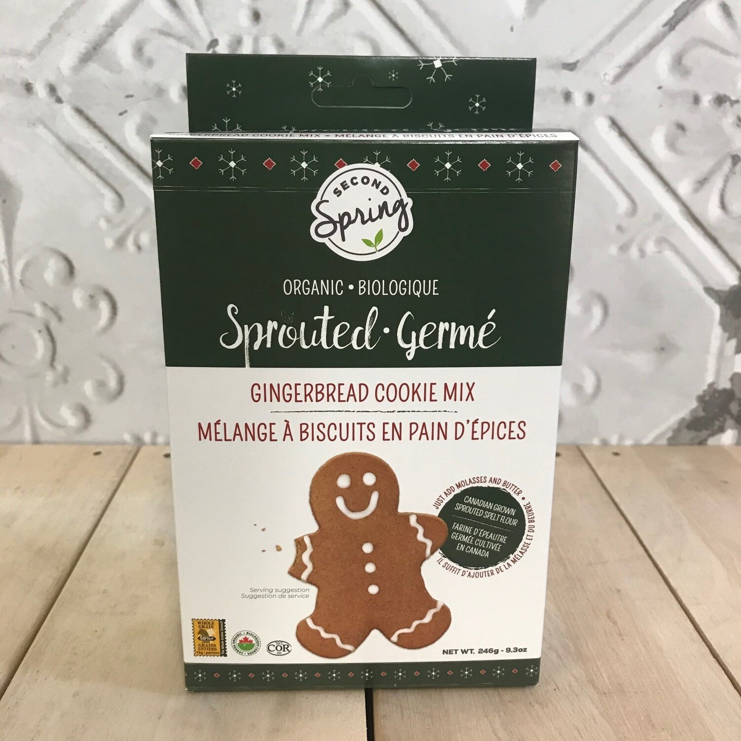SECOND SPRING Gingerbread Mix