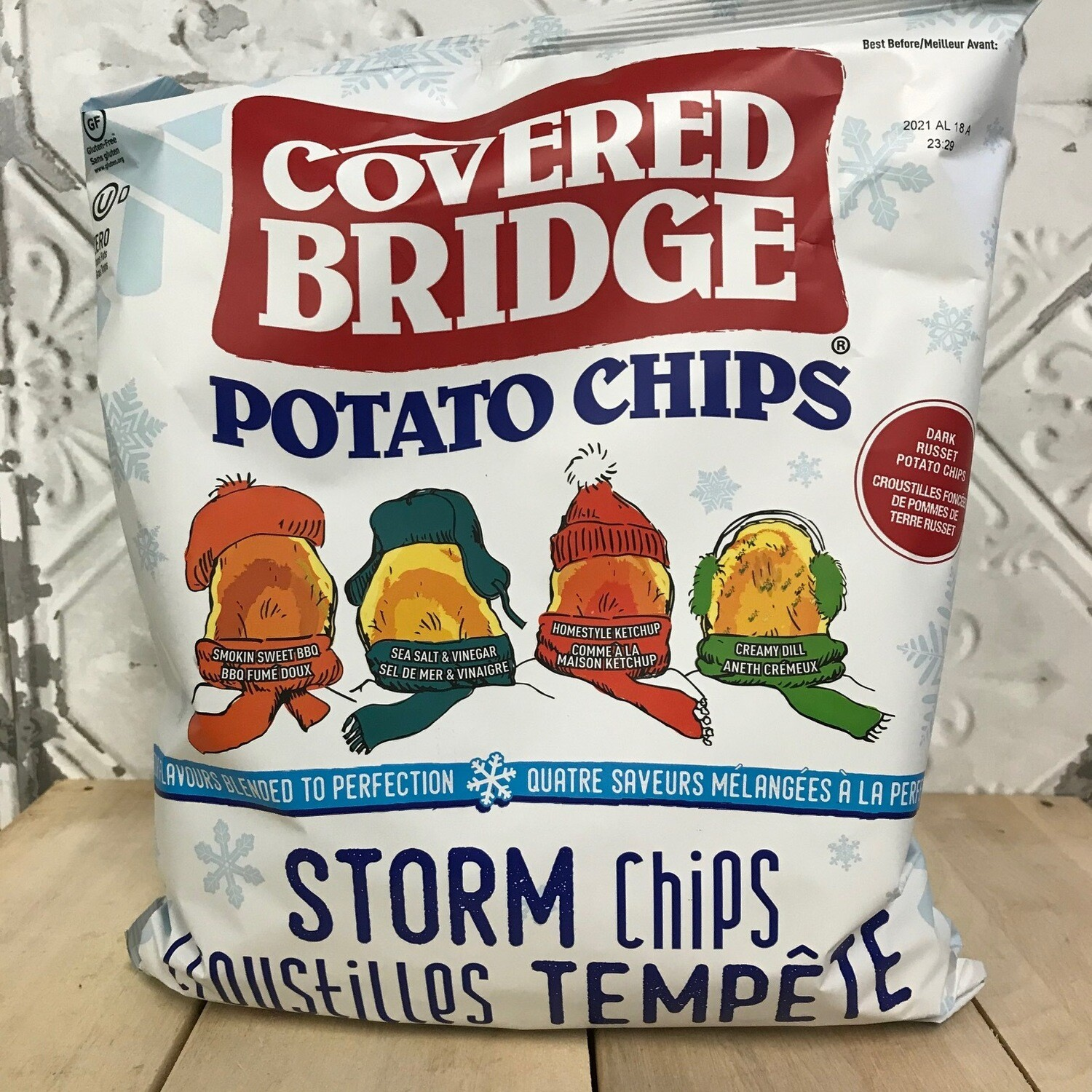 COVERED BRIDGE Storm Chips 284g