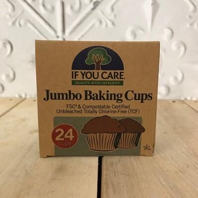 IF YOU CARE Jumbo Baking Cups 24pk