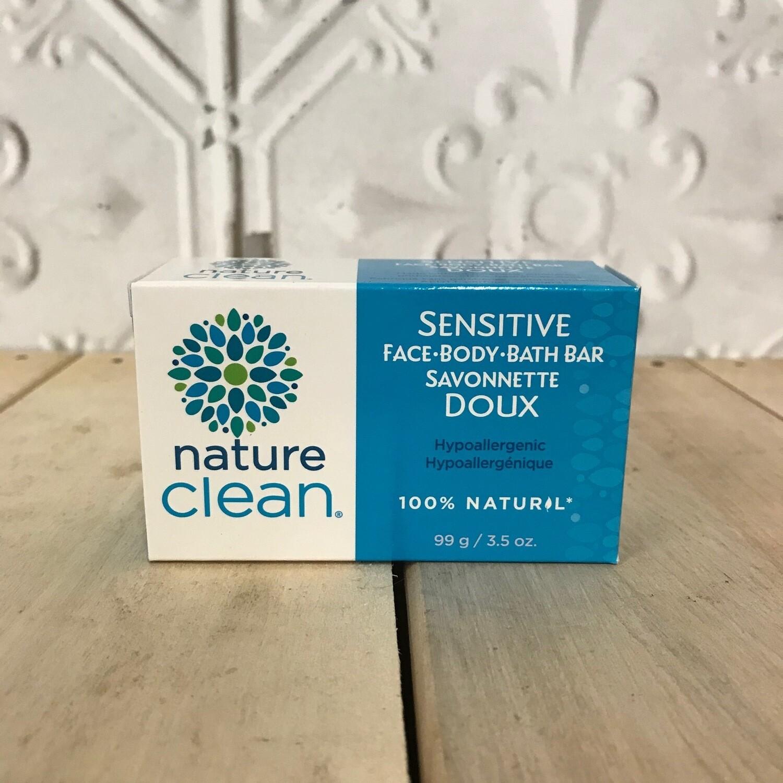 NATURE CLEAN Sensitive Face/Body/Bath Bar