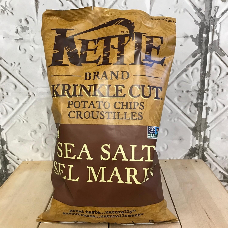 KETTLE BRAND Chips Sea Salt 397g