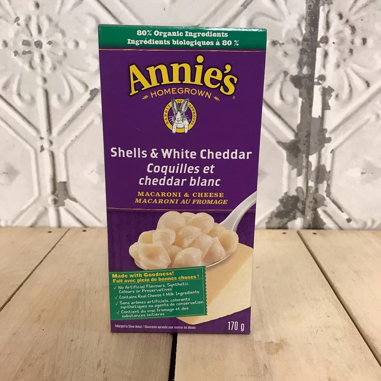 ANNIES Shells & White Cheddar