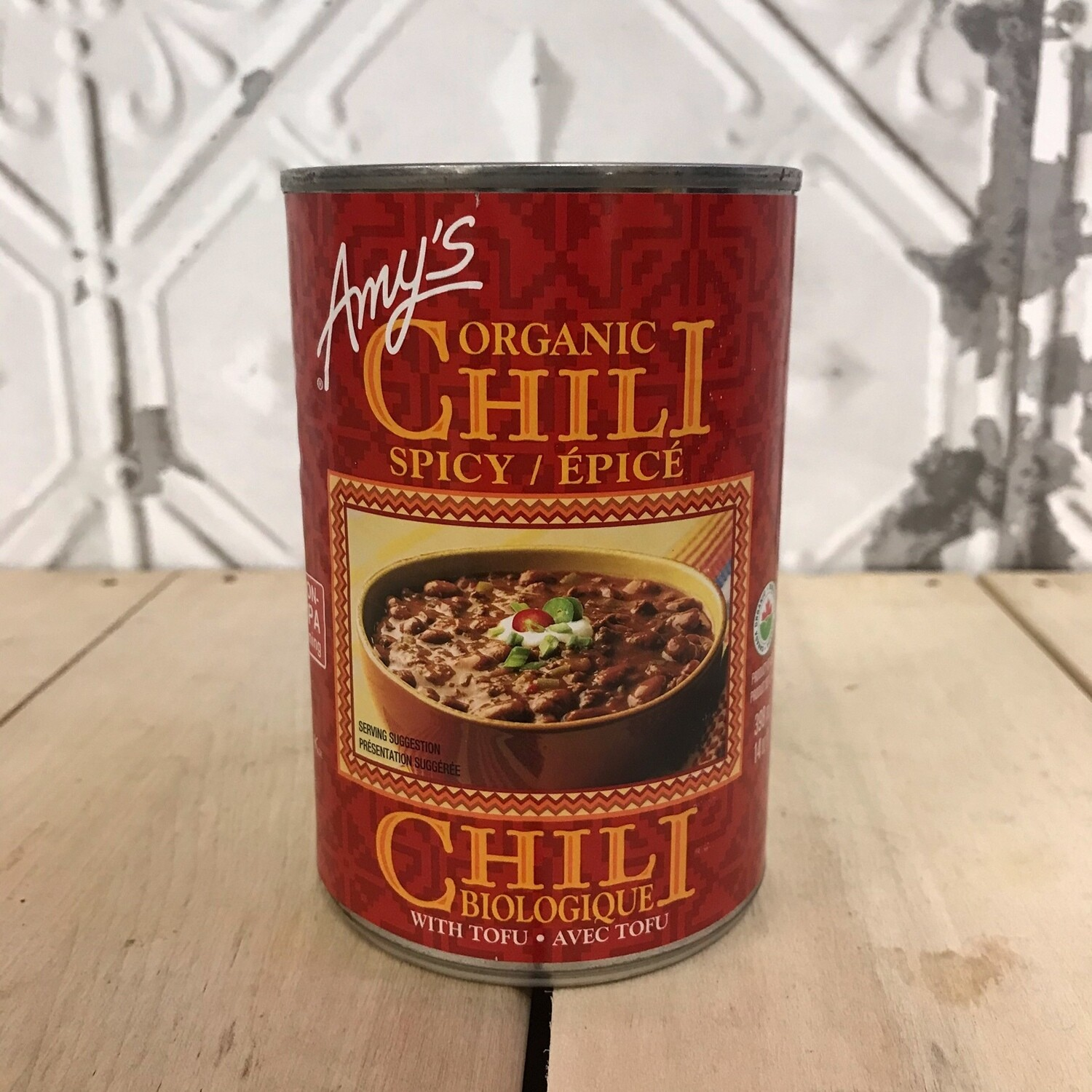 AMYS Spicy Chili 398mL