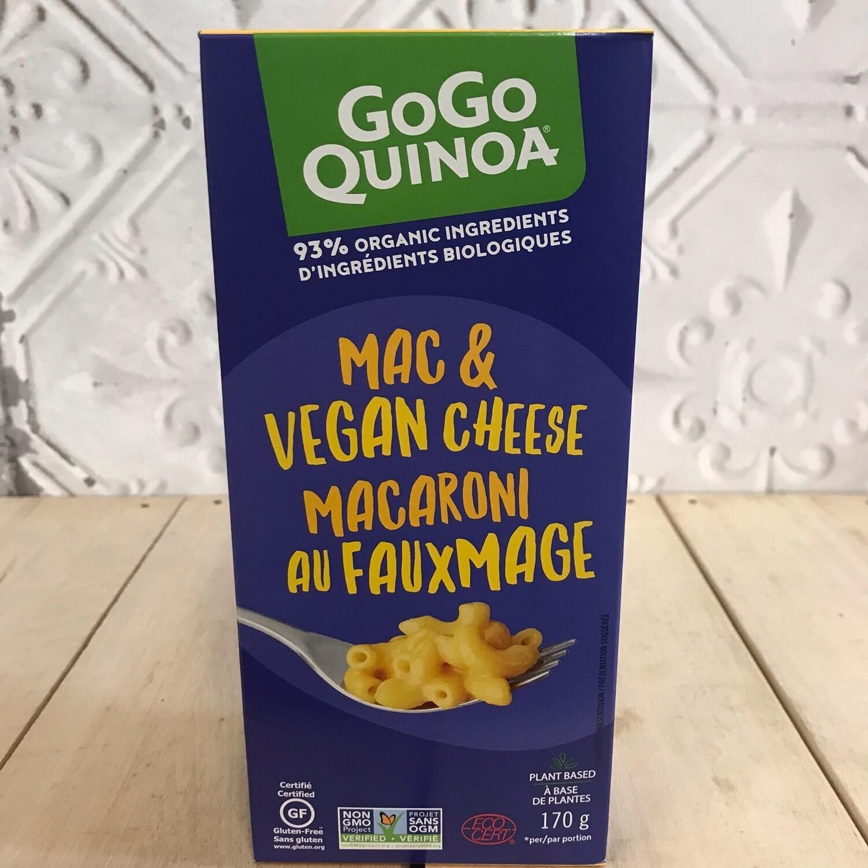 GOGO QUINOA Mac & Vegan Cheese