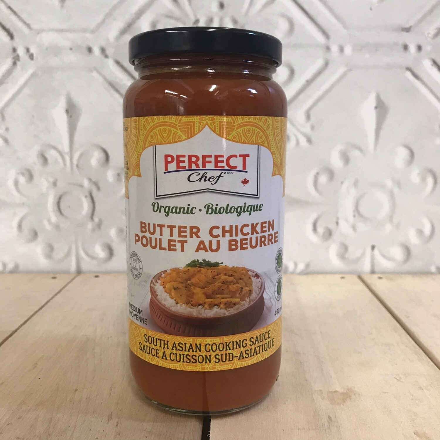 PERFECT CHEF Butter Chicken Cooking Sauce ORG 490mL