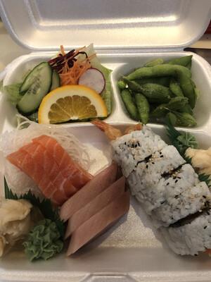 Sashimi Box (Gomae)