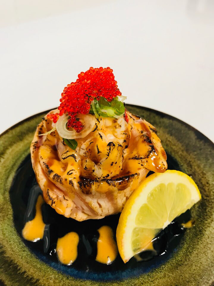 Aburi Salmon Flower