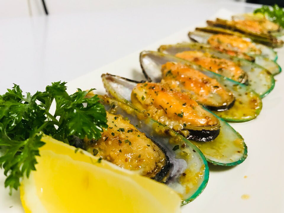 Garlic Butter Mussel