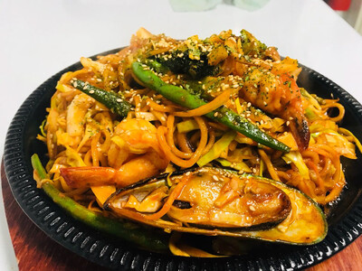 Spicy Special Yaki Udon