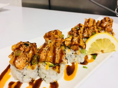 Spicy Tuna Blossom Roll