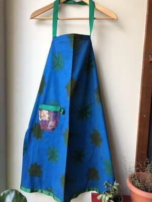 Tie-Dyed Aprons with Pocket