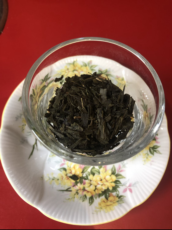 GREEN TEA: Bulk Loose-Leaf Tea, Hand-tied Flowering Tea, 56 grams